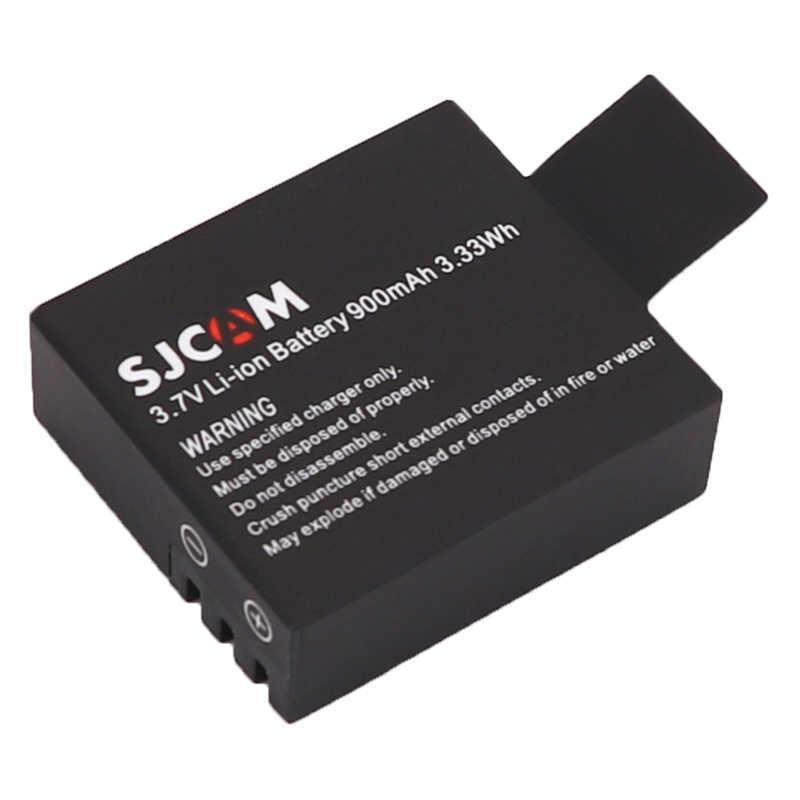 4x Bateries Sjcam Sj4000 Батарея + ЖК-дисплей Dual USB Зарядное устройство для SJCAM SJ6000 SJ5000 Sj5000x Sj7000 Sj8000 Sj9000 Wi-Fi M10 eken H9
