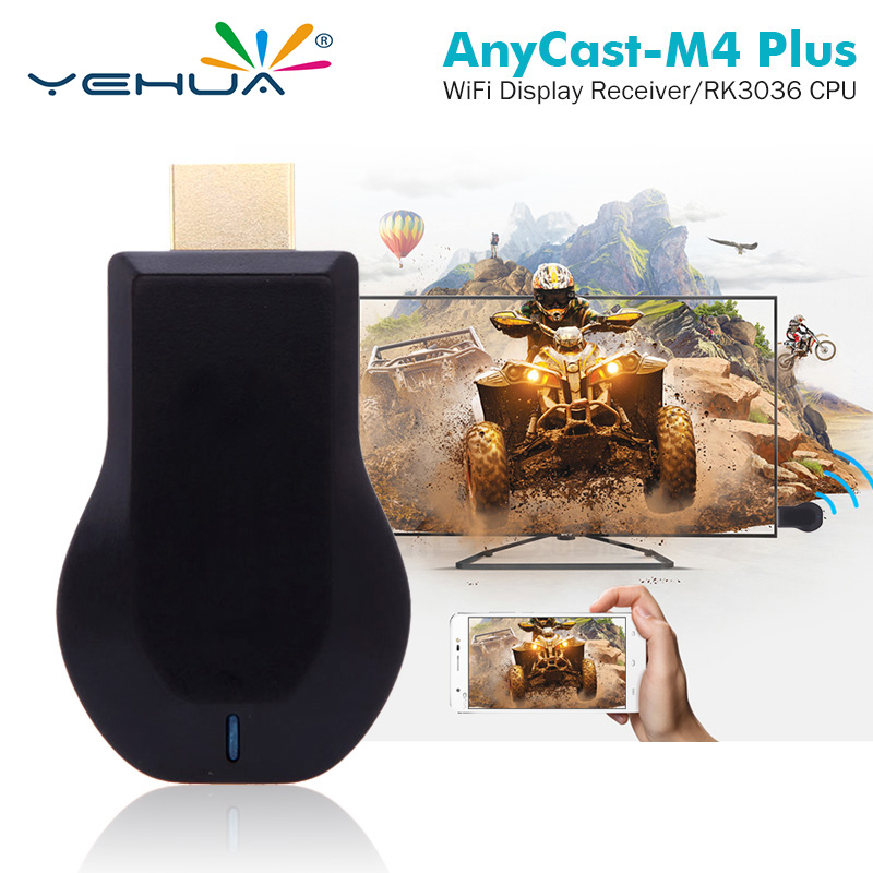 2018 NEUE TV Stick RK3036 dual core 1080 p H.265 anycast Miracast dongle DLNA Airplay WiFi Display IOS10 YouTube chrom cast