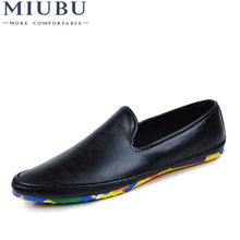 MIUBU Fashion Casual Shoes Men Designer Mens Driving Shoes High Quality Penny Loafers Luxury Brand Espadrilles Flats Moccasins