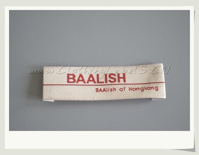 Etichette Di Abbigliamento Personalizzato Con Il Nome Del Marchio