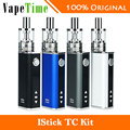 Original 40 w eleaf istick kit 2600 mah vape com gs tc tc atomizador 3 ml capacidade do tanque tc vs 40 w eleaf istick mod bateria 2600 mAh