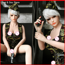 Top Quality Real Silicone Sex Doll 2017 New 158cm Big Breast Lifelike Love Doll Vagina Ass Sex Real Doll For Men Adult Product