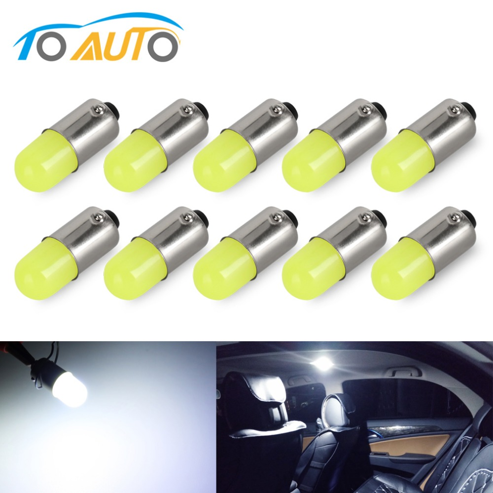 4 Quality Motor Car Push Fit 504 Wedge Base 12 Volt 3 Watt Interior CapLess Bulb