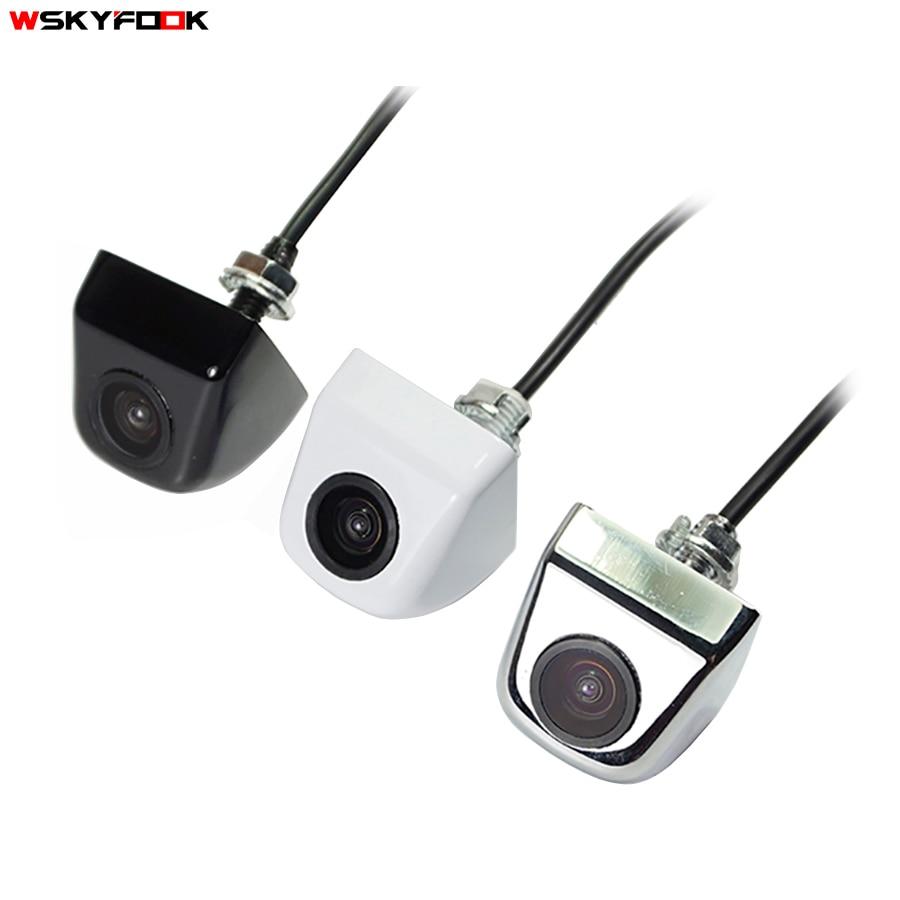 3 couleurs ccd HD parking caméras Anti-Brouillard imperméable à l'eau De Secours De Voiture Vue arrière de Vision Nocturne Parking Caméra Kit caméra Frontale de Zinc alliage