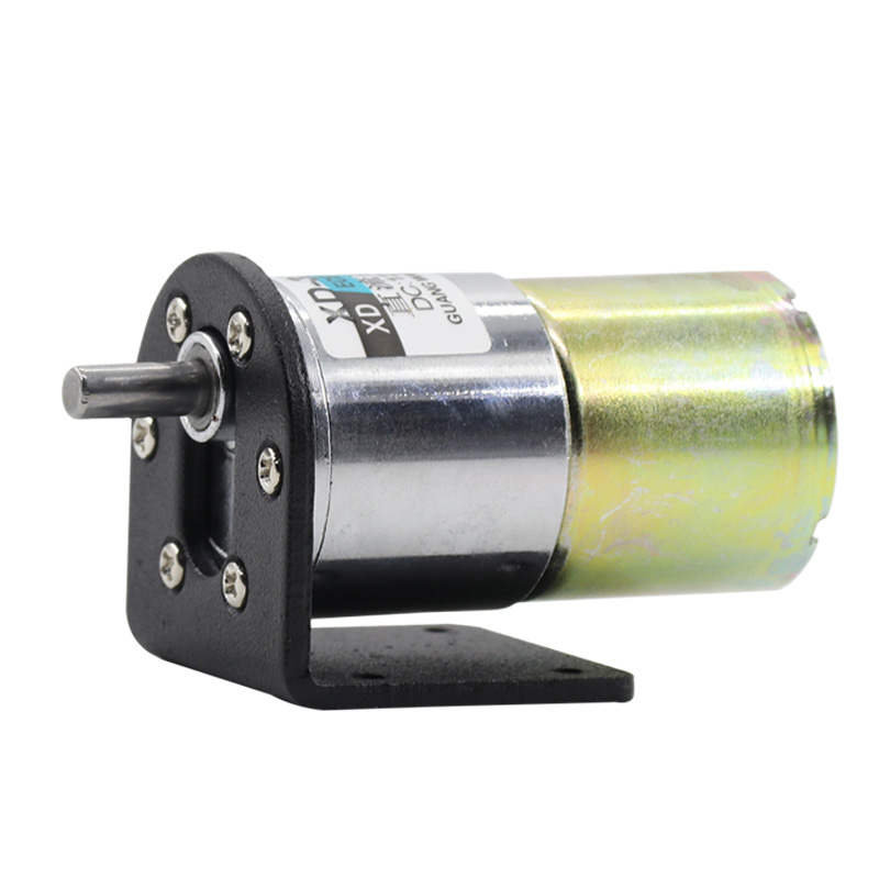 Miniature brush DC motor 12V low speed motor 24V speed motor slow gear motor 37GB520