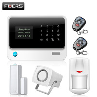 Wireless WiFi Camera GSM GPRS SMS Home Security Alarm System English Russian Spanish French Turkish Netherlands
