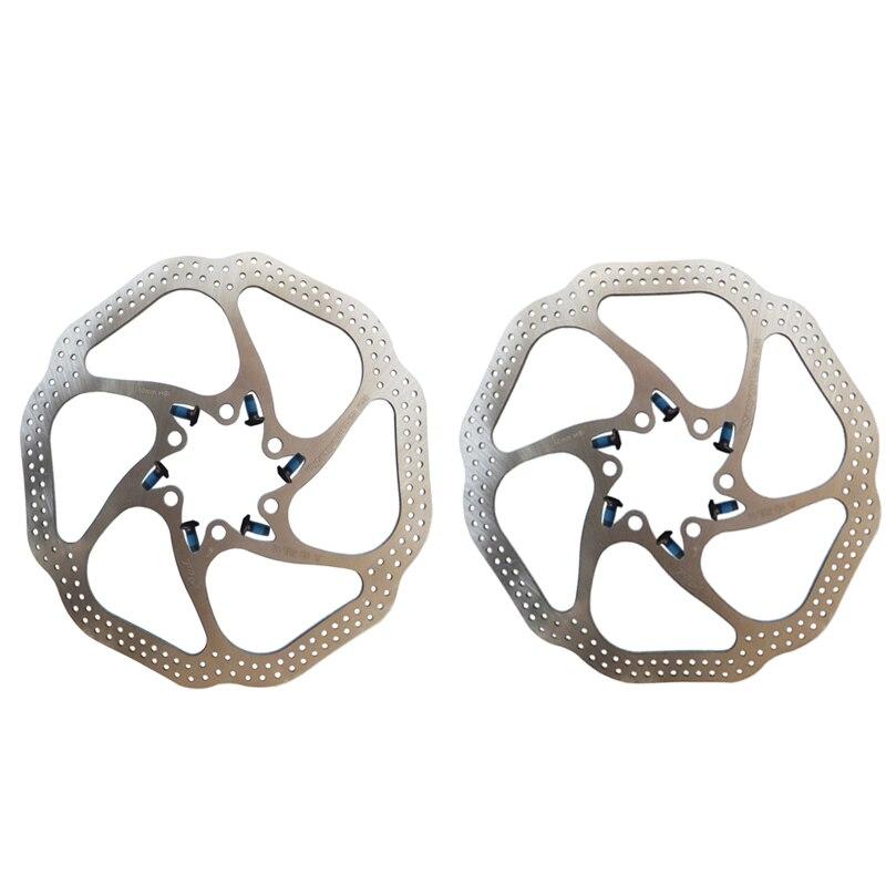 Kamena Lot de 2 disques de frein AVID HS1 12 disques BB5//BB7 VTT 160 mm