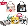 BVLRIGA Известные дизайнерский бренд сумки женщины кожаные сумки моды eye сумки небольшой мешок плеча женщины вестник мешки доллар цена
