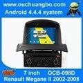 Android 4.4 авторадио мультимедиа gps S160, пригодный для Renault Megane II 2002-2008 с 4 ядра 1024*600 AUX USB MP3 1080 P canbus