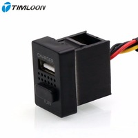 2in1 Car 5V 2 1A USB Interface Socket Charger And Car Air Purifier And Ionizer Negative