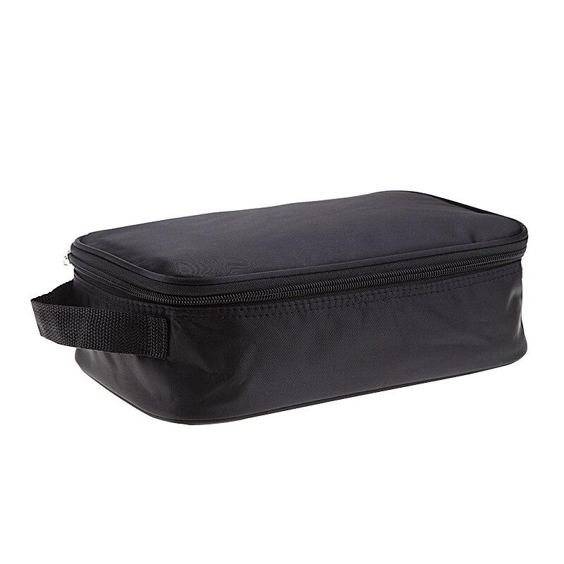 Black Storage Bags Makeup Waterproof Organizer Sundries Cosmetics Underware Sock Cleanser Mens Home Travel Trip Organization