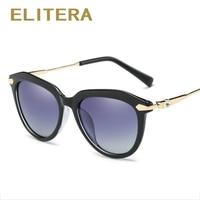 ELITERA 2018 Fashion Cat Eye Sunglasses Women Luxury Brand Designer Vintage Sun Glasses Female Glasses Shadow