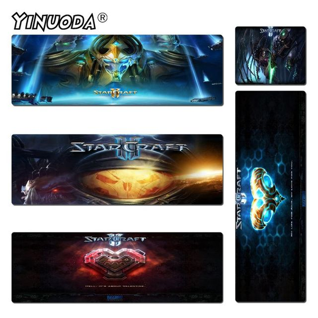 Yinuoda Beautiful Anime Starcraft Rubber Mouse Durable Desktop Mousepad Size for 180*220 200*250 250*290 300*600 and 400*900*2mm