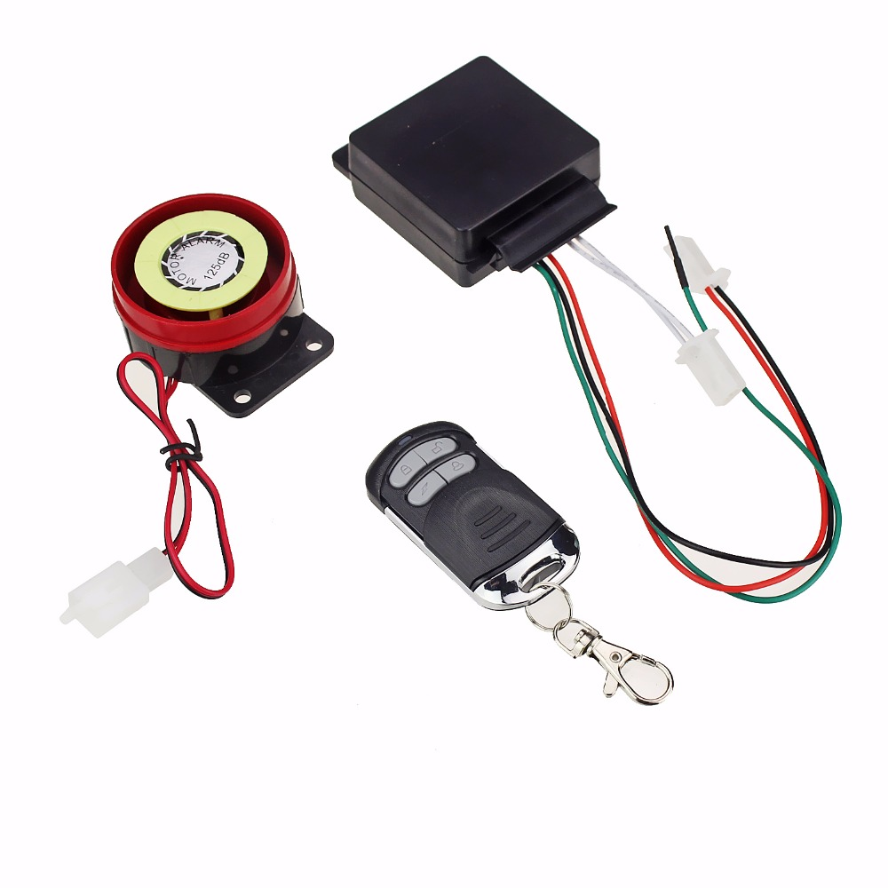 Мотоцикл 1 Способ Скутер Авто Сигнализация Блокировки Дистанционного Управления Детектора Датчика Автоматически Распознает Частота Вибрации