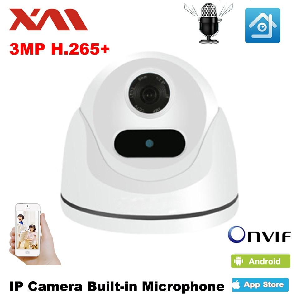 XM HD Macchina Fotografica del IP di 3.0MP Indoor Audio Dome Cam IR Lens 3.6mm IP CCTV Telecamera di Sicurezza di Rete Onvif P2P android iPhone XMEye VistaXM HD Macchina Fotografica del IP di 3.0MP Indoor Audio Dome Cam IR Lens 3.6mm IP CCTV Telecamera di Sicurezza di Rete Onvif P2P android iPhone XMEye Vista
