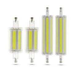 Затемнения светодиодный лампы R7S УДАРА СВЕТОДИОДНЫЙ светильник 78 мм 118 мм мозоли энергосберегающие заменить галогенные света лампада