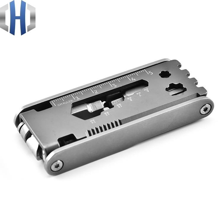 Multifunctional Kit Stainless Steel Multifunctional Bicycle Repair Tool Bicycle Portable Tool