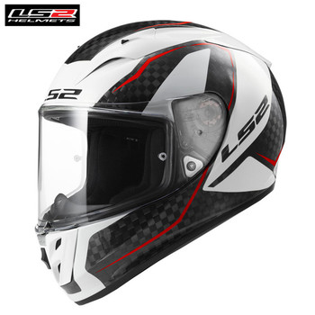 LS2 FF323 Arrow Professional Motorcycle Helmet Carbon Fiber Full Face Casco Moto Casque Capacetes de Motociclista GP Racing ls2 helmet