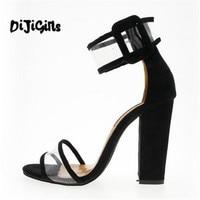 2018 sapatas Das Mulheres Sapatos de Verão T-stage Dança Sandálias de Salto Alto Da Moda Sexy Stiletto Partido Sapatos De Casamento Branco Preto