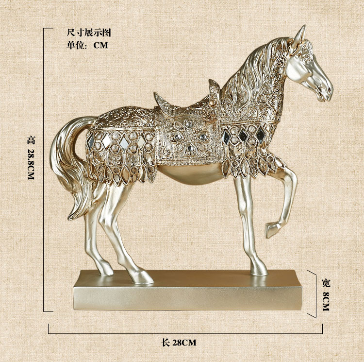 online buy wholesale resin horse statues from china resin horse
