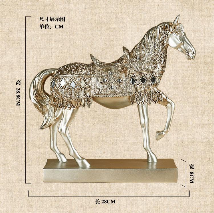 Résine Cheval Sculptures Achetez Des Lots à Petit Prix