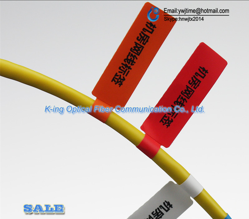 FTTH Fiber Optic Tool Network Cable Labels Sticker 900 Pieces 30 PCS A4  Size Color Blank Label Waterproof Tearproof oilproof