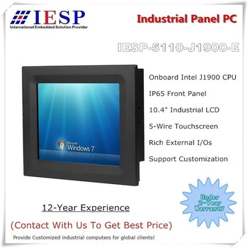 10.4 inch Touch Panel PC, J1900 CPU, 4GB RAM, 64GB SSD, industrial computer, OEM/ODM