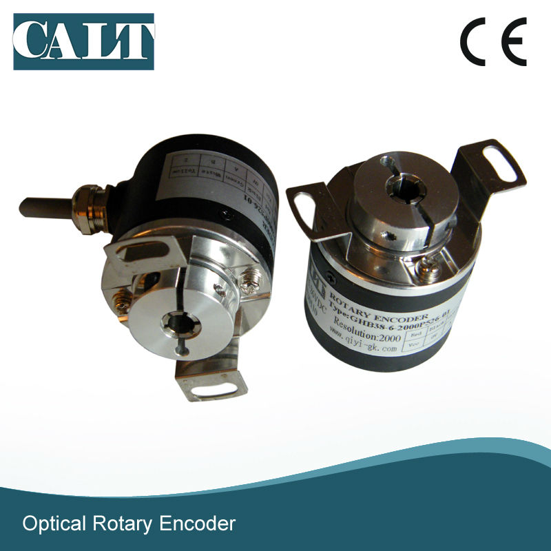 GHB38 8mm Blind Shaft Rotary Encoder Incremental Linear Optical Encoder For Embroidery Machine