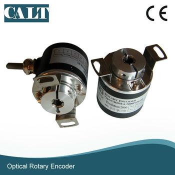 цена на GHB38 8mm blind shaft rotary encoder incremental linear optical encoder for embroidery machine