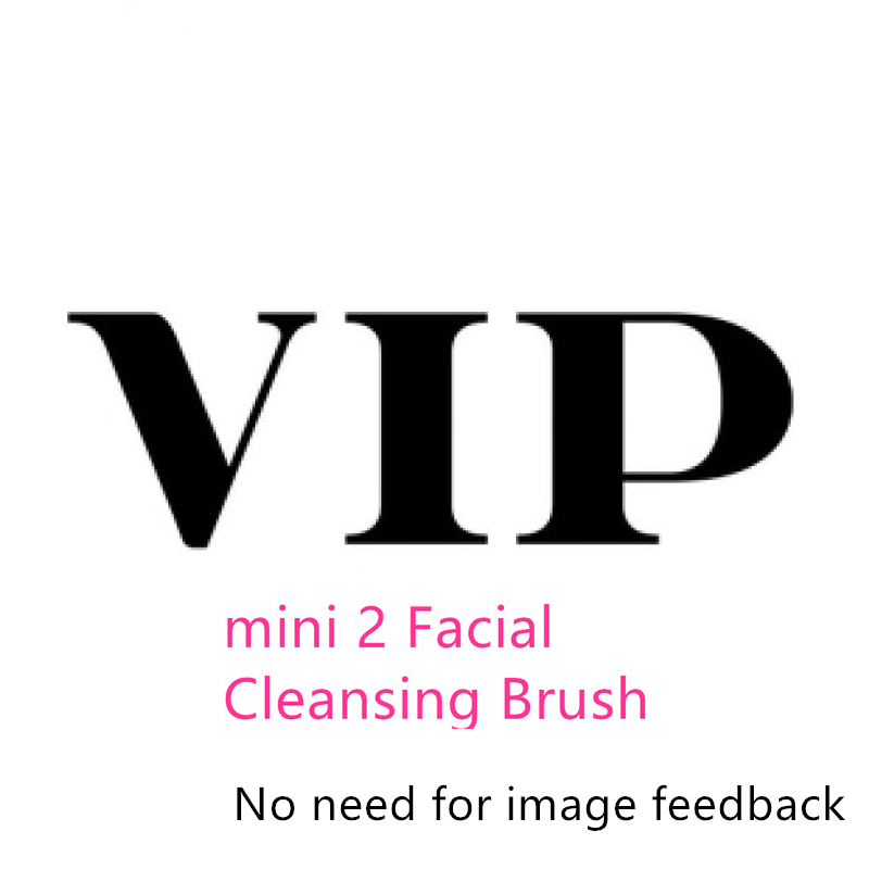 waterproof Silicone Mini Facial Cleansing Brush Silicone 2 Deep Pore Cleaning Electric waterproof Massage