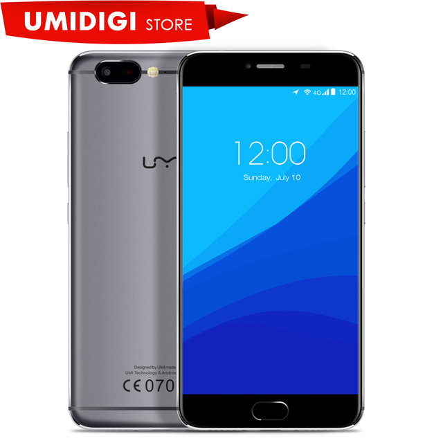 "Umi Z Helio x27 Deca core 2.6GHZ Full Metal Unibody Smartphone 5.5"" 13MP Front Camera Type c Port Mobile Phone"