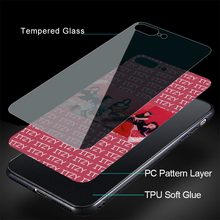 ITZY iPhone Tempered Glass Case (8 Models)