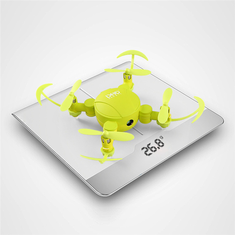 JJRC DHD D4 Mini Pocket Foldable Drone Remote Controller Quadcopter 4CH 6-Axis Gyro 720P HD Camera Altitude Mode WIFI RC FPV mini rc drone jjrc h30ch 2 4ghz 4ch 6 axis gyro quadcopter headless mode drone flying helicopter with 2 0mp hd camera gifts zk40