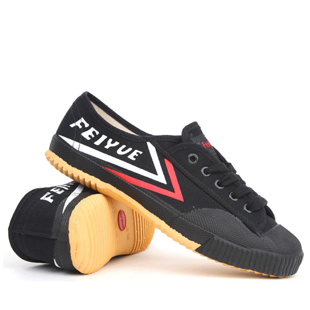 Shoes Men Sneakers Basic Feiyue Black Vulcanized-Canvas New And Martial-Arts title=