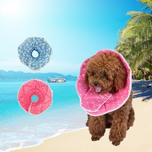 Soft Pet Dog Collar Elizabethan Cone Collars Wound Healing Remedy Recovery Protective Collar with Colorful Printings