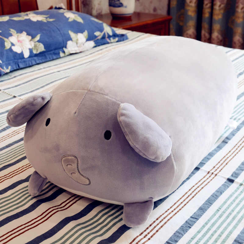 Gordo bonito Hamster de Pelúcia Elefante de Brinquedo de Pelúcia Unicórnio Bonito Dinossauro Macio Animal Dos Desenhos Animados Pillow Almofada