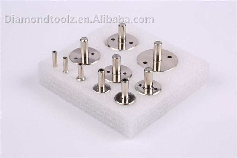 Punta da 10mm 6mm-52mm in vetro rivestito diamantato per fori di - Punta da trapano - Fotografia 1