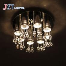 Z Best Price Modern Minimalist LED Ceiling Lamp Crystal Lamp Living Room Bedroom Warm Circular lights Creative Lights