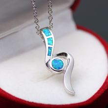 Opal Jewelry 925 Silver Woman Pendant Natural Australian Baby Pendant Jewelry Gift Necklace Pendant(China)