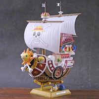 Anime Einem Stück Luffy Thousand Sunny Schiff Boot Modell PVC Figure Sammeln Spielzeug