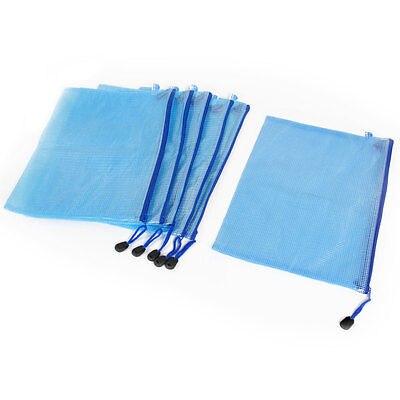 Blue Grid Pattern Zippered 13.4