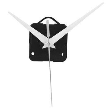 Relógio de quartzo mecanismo de movimento diy peças de reparo + mãos brancas