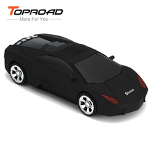 TOPROAD Mini Car Bluetooth Speaker Wireless Stereo Music Sound Surround Player Support TF Card FM Radio Hands-free for Phones PC