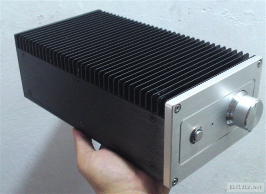 size 430*90*308MM New aluminum amp chassis with heatsink //audio amplifier case