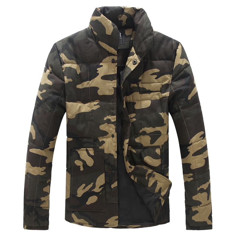 ФОТО New 2016 winter military style fashion camouflage thincken cotton padded jacket men parkas men's clothing chaqueta hombre / MF16