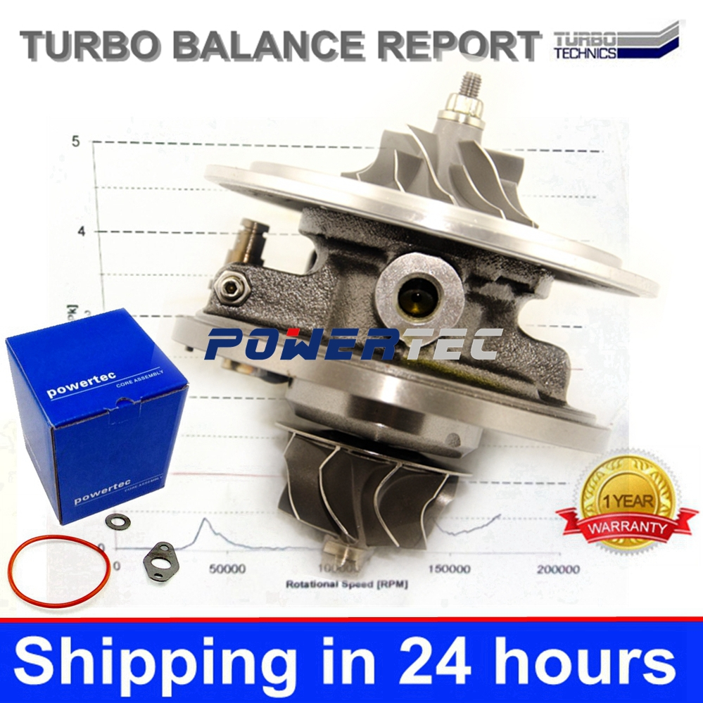 GT1749V balanced chra 8200256077 8200332125 turbocharger core cartridge 708639 turbo for RENAULT SCENIC 1.9DCI F9Q engine