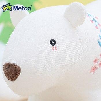 Мягкая плюшевая игрушка милые животные Metoo 4