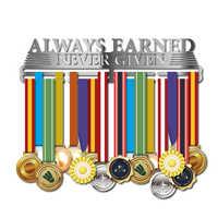 แรงบันดาลใจผู้ถือเหรียญเหรียญกีฬาแขวนเหรียญ rack สำหรับวิ่ง, ว่ายน้ำ race เหรียญ