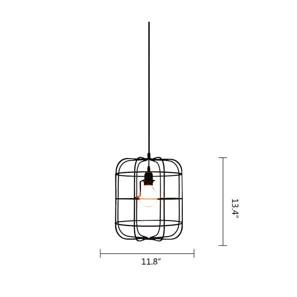 Vintage simple chandelier iron cage chandelier creative dining room vintage simple chandelier iron cage chandelier creative dining room bed room lighting max wattage 40w max voltage 280v in chandeliers from lights lighting mozeypictures Images