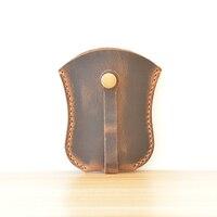Unique Handmade Real Leather Key Case for Car Designer Car Key Wallet Bag Pouch Case for Car Keys